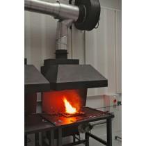 Hotte de forge pour atelier - Forge a charbon
