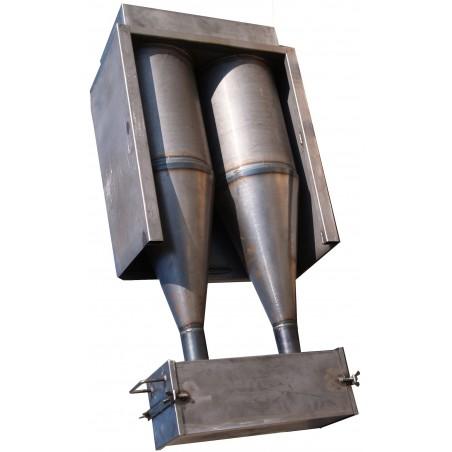 Hotte de forge - Aspirateur et filtre pour fumée de forge à charbon