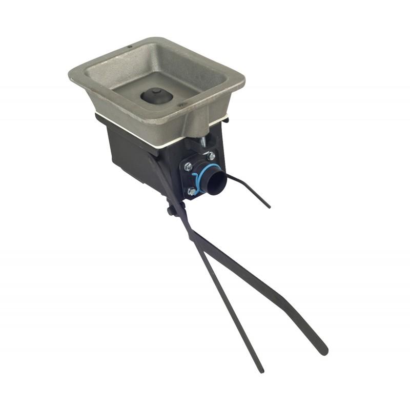 materiel de forgeron - foyer de forge - forge a charbon