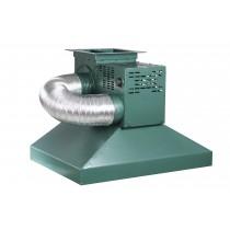 Hotte de forge avec extracteur de fumée