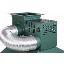 Hotte de forge pour forge a charbon
